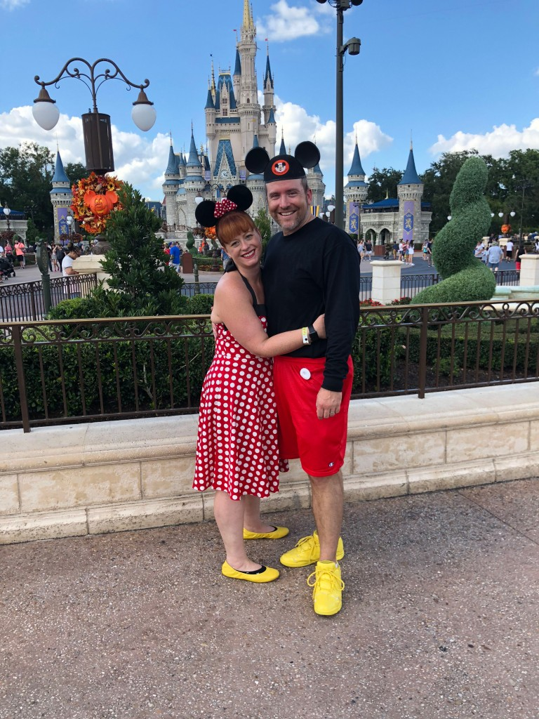 Mike and me at Disney World