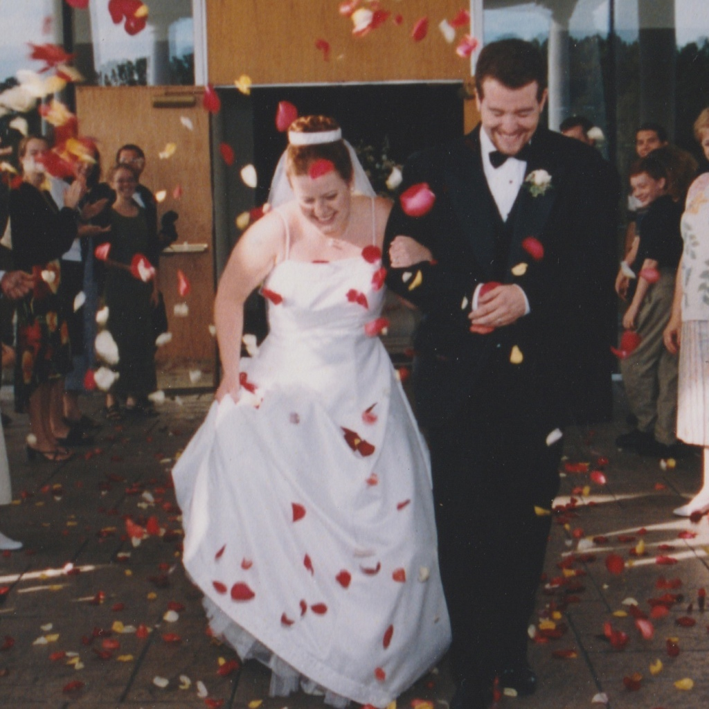 leaving our wedding